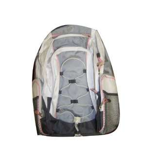 Fuel By East Sport Girls School Backpack White/Pink Extra