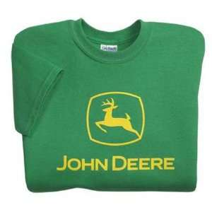 John Deere Youth Gildan Ultra Cotton Heavyweight T shirt