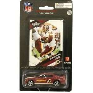 Redskins NFL Diecast 2009 Dodge Charger with Clinton Portis Score