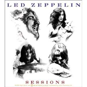 LED ZEPPELIN SESSIONS STICKER