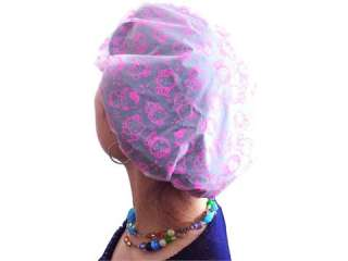 NEW HELLO KITTY PVC SOFT PLASTIC SHOWER CAP M4