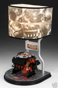 HEMI ENGINE COLLECTIBLE DESK TABLE LAMP LIGHT CLASSICS