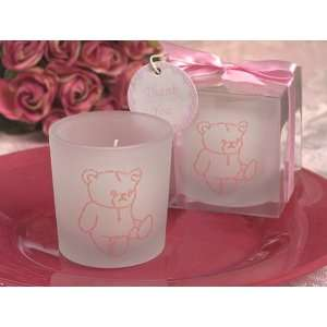 Cute and Cuddly teddy bear candle holder
