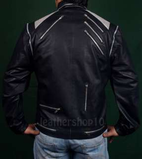 michael jackson leather jacket beat it XS  5XLAvailable in PU/Faux