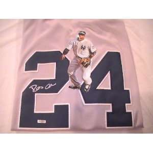 ROBINSON CANO SIGNED AUTOGRAPHED JERSEY NEW YORK YANKEES