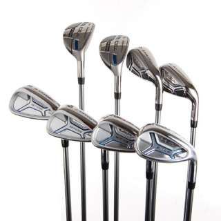New Adams IDEA A7OS Mens Iron Set 4H,5H,6i SW w/ Lite Graphite Shafts