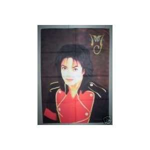 MICHAEL JACKSON Cloth POSTER Fabric FLAG HUGE NEW O