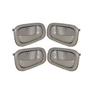 Toyota Corolla Gray Replacement Set 4 Inside Door Handles Automotive