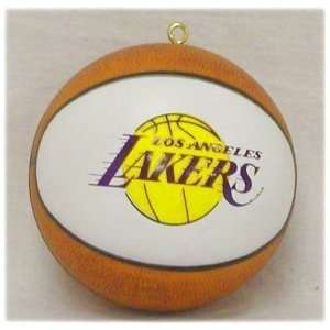 Los Angeles Lakers Basketball Shaped Ornament *SALE