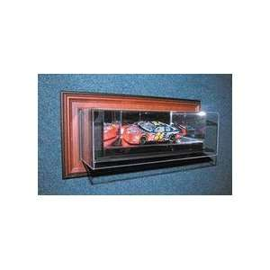 4th Dimension Case Up 1 / 24 Scale Single Car Display Case in Wood