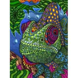 Chameleon Wooden Jigsaw Puzzle Toys & Games