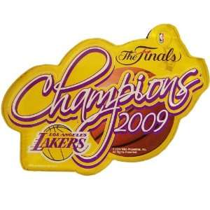 Los Angeles Lakers 2009 NBA Finals Champions Car Magnet