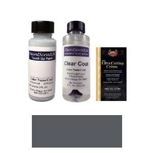 2 Oz. Anthracite (Charcoal) Gray Metallic Paint Bottle Kit
