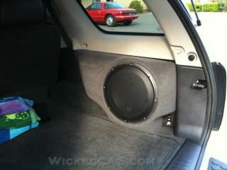 Chevy Trailblazer SS Envoy Rainer Saab 9 7X Sub Box 10