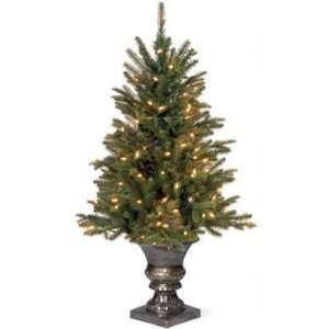 Fir Entrance Christmas Tree; 50 Clear Lights UL