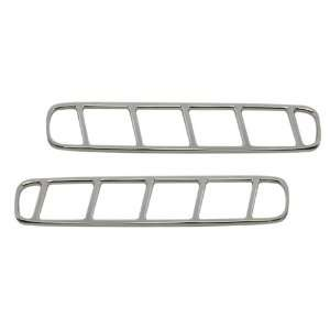 Ford Mustang Chrome Billet Door Vent Bezels, Pr. MU0051SC, Fits 2010
