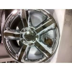 20 INCH CHEVROLET TAHOE LTZ CHROME WHEELS/RIMS, 6x5.5 BOLT PATTERN.