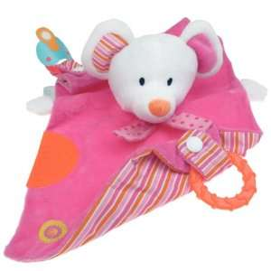 Capelli New York Mouse Cuddle Cloth Hand Puppet, Soft