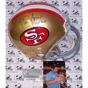 Creative Sports APROSF YOUNG HOF Steve Young Hand Signed San Francisco