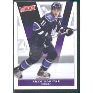 2010/11 Upper Deck Victory Hockey # 87 Anze Kopitar Kings