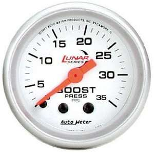 Auto Meter 4104 Lunar Mechanical Boost Gauge Automotive