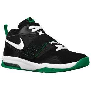 Nike Air Legacy 3   Big Kids   Basketball   Shoes   Black/Pine Green