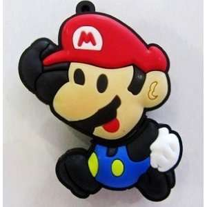 4GB Mario Style USB Flash Drive with Keychain Electronics