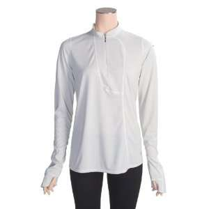 Mountain Hardwear Passage Point Pullover Shirt   Zip Neck, Long