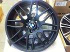 19 matt black csl wheels bmw m3 325 328 330