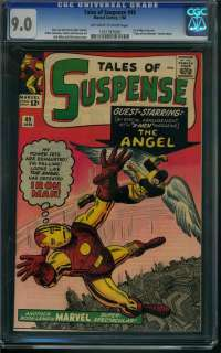 OF SUSPENSE #49 CGC 9.0 OW/ WHITE PAGES 1ST X MEN CROSSOVER