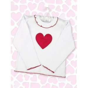 Baby Lil Love Red Heart Tee Shirt   12 to 18 Month
