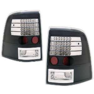2002 2004 Ford Explorer KS LED Black Tail Lights