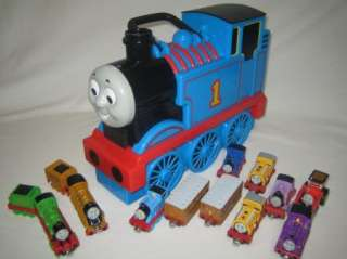 THOMAS TAKE ALONG LOT Carrying Case~Die Cast Trains