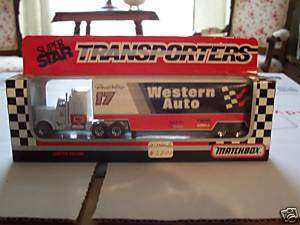 1991 MATCHBOX WHITE ROSE SUPER STAR TRANSPORTER 187