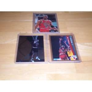 Michael Jordan lot of 3 cards 1993 Topps stadium club members choice