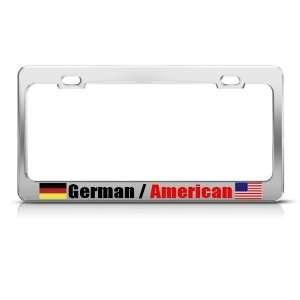 Germany German American Country Metal license plate frame