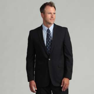 Kenneth Cole Reaction Mens Slim Fit Navy Suit Separate Coat