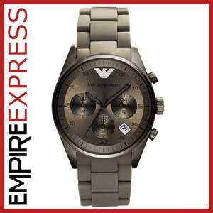 NEW** MENS EMPORIO ARMANI SPORTIVO WATCH   AR5950  RRP £350