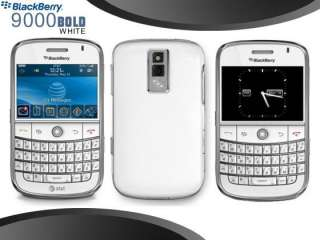 New UNLOCKED BlackBerry Bold 9000 1GB wifi gps white Smartphone