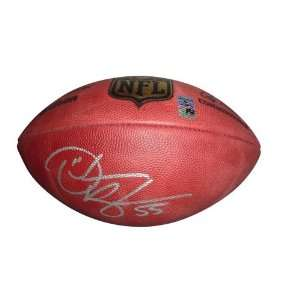 Derrick Brooks Autographed NFL Game Football Sports