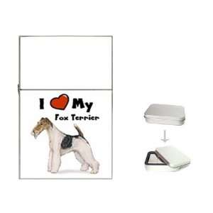 I Love My Fox Terrier Flip Top Lighter Health & Personal