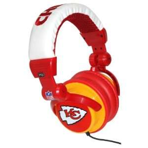 Kansas City Chiefs NFL DJ Headphones Case Pack 12