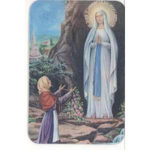 Our Lady Grace   Our Lady Lourdes   Pocket Saints Cards
