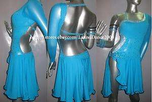 LATIN SALSA BALLROOM COMPETITION DRESS M102
