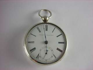 Appleton Tracy Pre Civil war key wind pocket watch, A.T.Co. Eagle case
