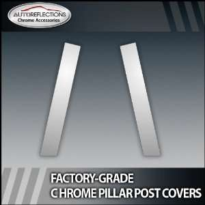 01 05 Honda Civic Coupe 2Pc Chrome Pillar Post Covers