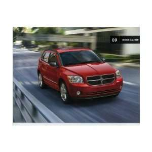 2009 DODGE CALIBER Sales Brochure Literature Book