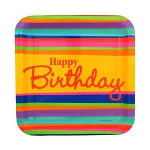 30th Birthday Supplies Happy Birthday Dinner Plates Toys