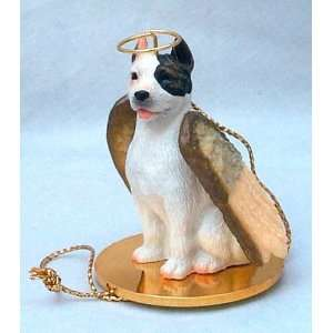 Pit Bull Terrier Angel Dog Ornament   White