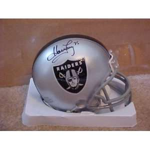 Howie Long Hand Signed Autographed Oakland Raiders Riddell Football